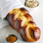 Challah with Cinnamon Honey Butter
