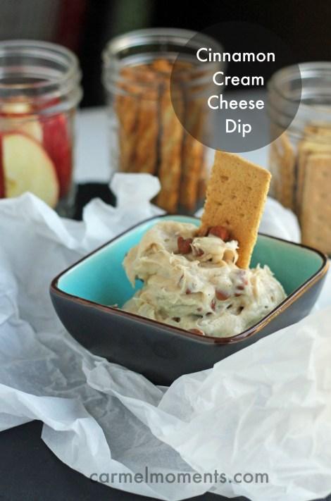 Cinnamon Cream Cheese Dip