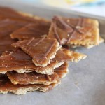 Chocolate Caramel Cracker Candy