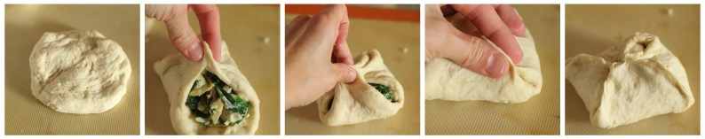 Making Spinach Artichoke Puffs