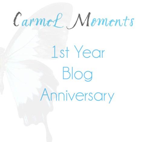 1st Year Blog Anniversary