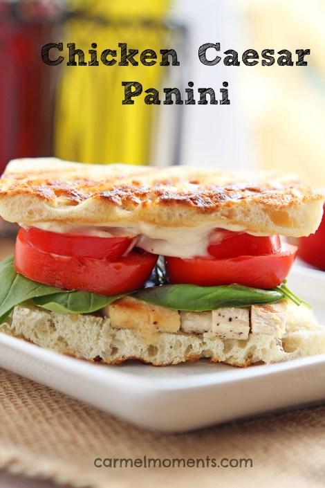 Chicken Casear Panini