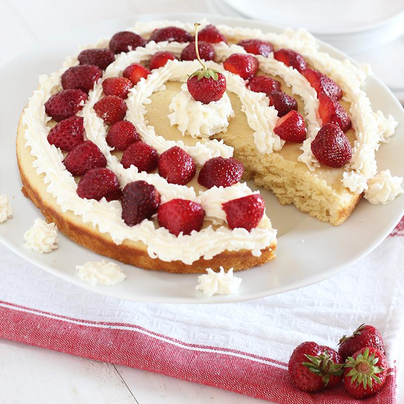 Lemon Strawberry Shortcake