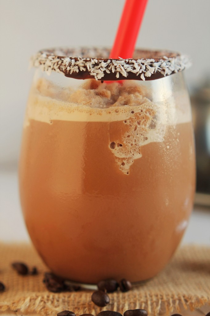 Mocha Coconut Chilled Coffee