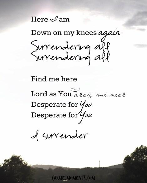I Surrender Worship Music Lyrics Hillsong