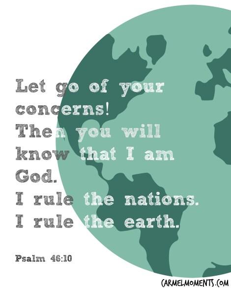 Psalm 46:10 Bible Verse