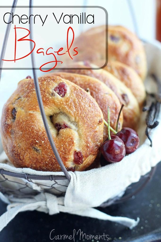Cherry Vanilla Bagels