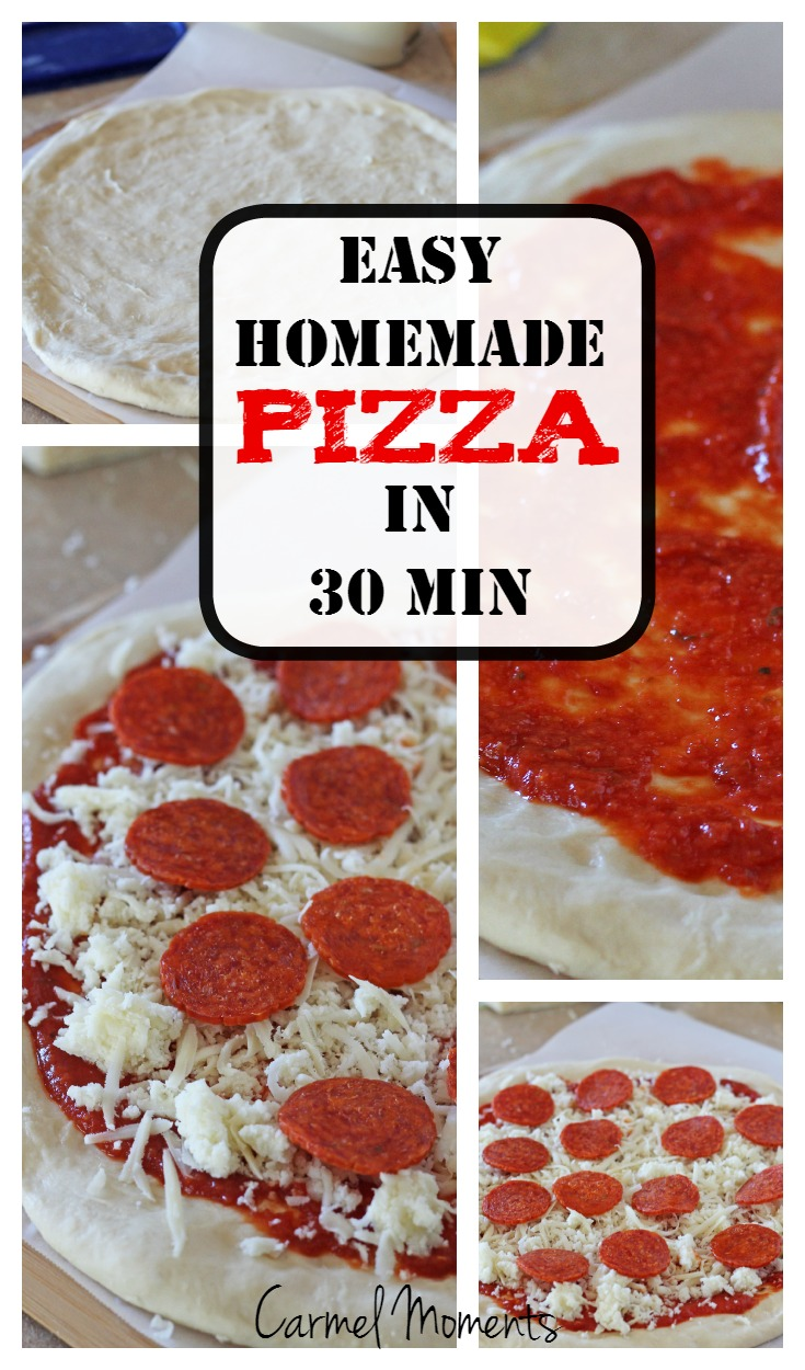 30 Easy Nail Designs For Beginners: Easy 30 Minute Homemade Pizza