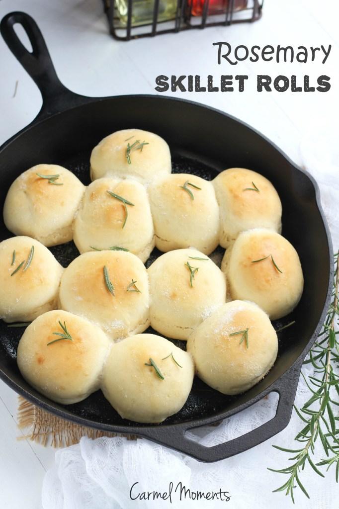 Rosemary Skillet Rolls