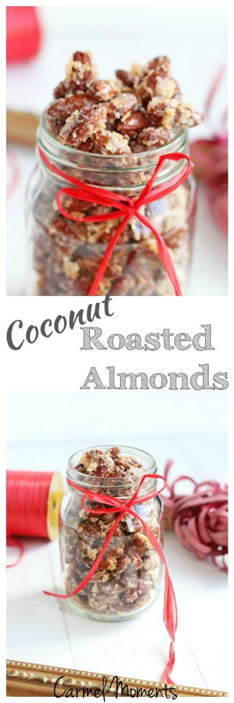 Coconut Roasted Almonds