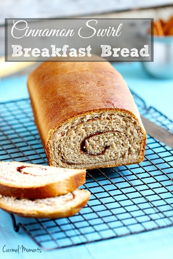 A traditional cinnamon swirl bread. A simple yet perfect yeast bread with just the right amount of spice. Perfect for breakfast, brunch or as toast.
