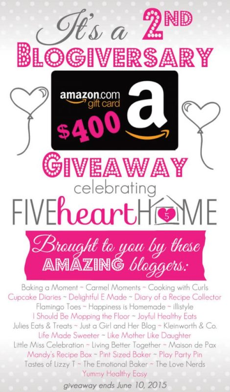 Five-Heart-Home-2nd-Blogiversary-Amazon-Gift-Card-Giveaway_Graphic700pxSRGB