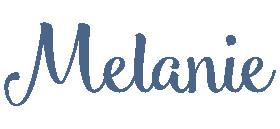 Melanie Signature 2