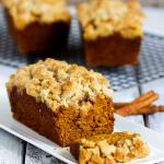 Pumpkin Crumble Bread