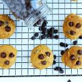 Pumpkin Chocolate Chip Cookies // @gatherforbread