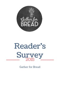 2015 Reader Survey and a Prize!