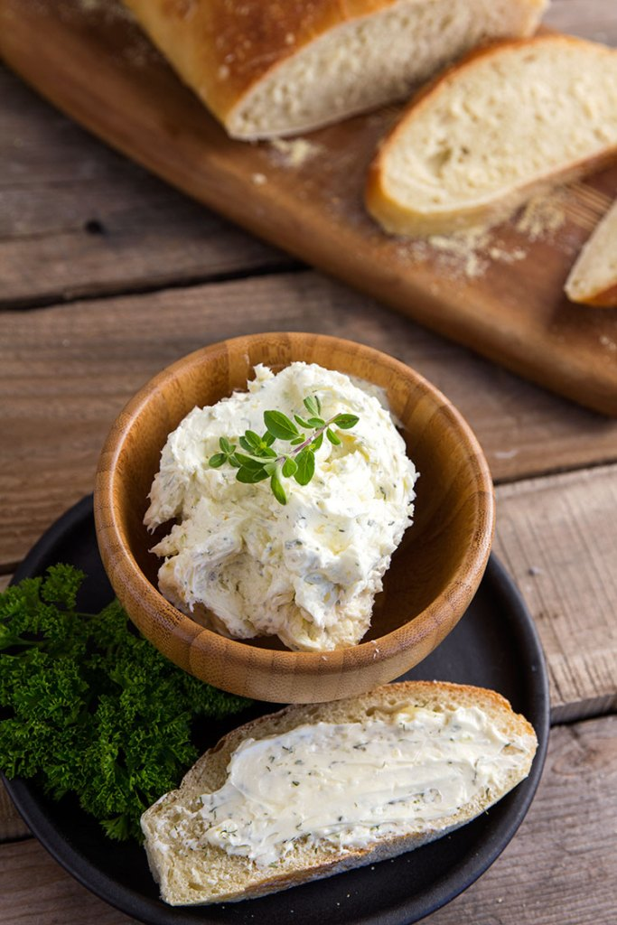 Garlic Herb Butter // gatherforbread.com