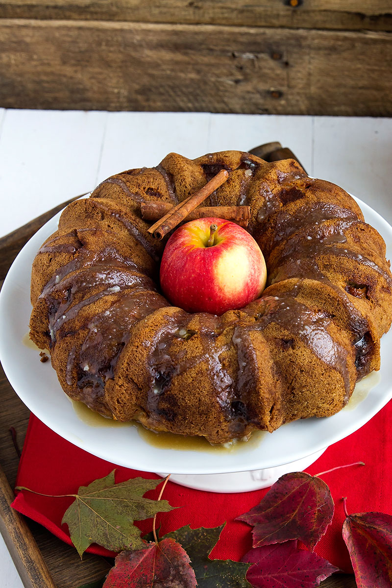 Apple Rum Dum Cake