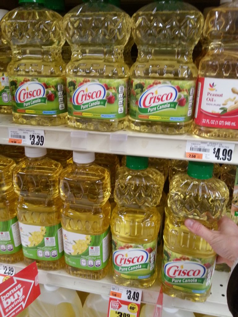 Crisco Products at Giant Stores