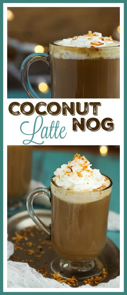 Coconut Nog Latte