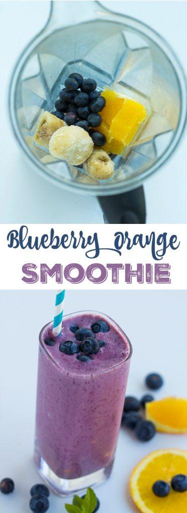 Blueberry Orange Smoothie   gatherforbread.com