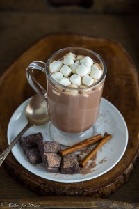 Simple Homemade Hot Chocolate | gatherforbread.com