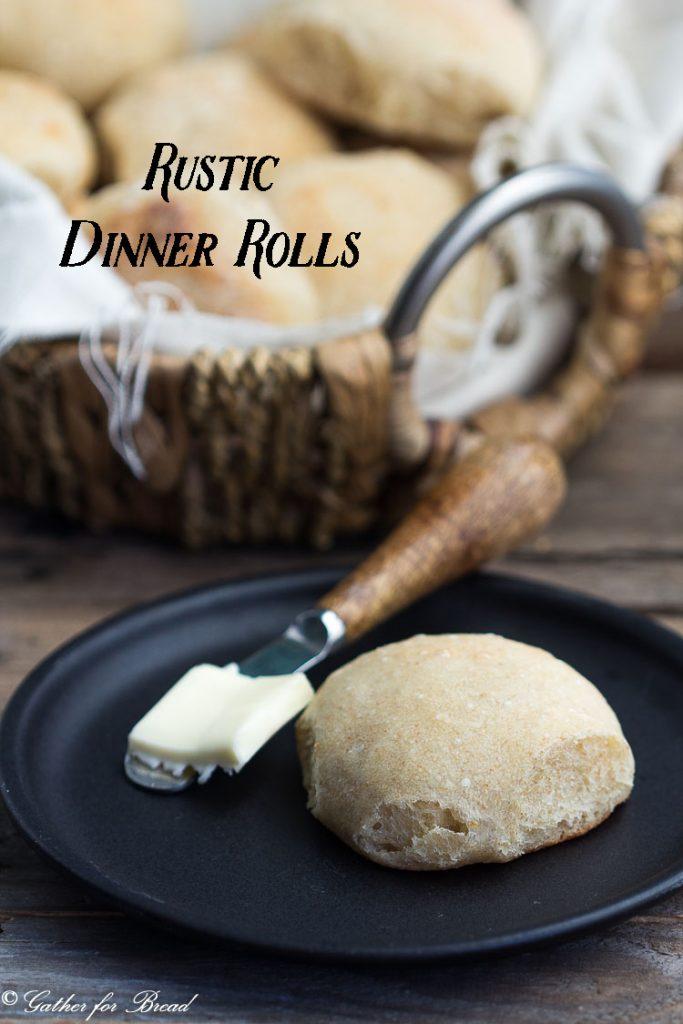 Rustic Dinner Rolls