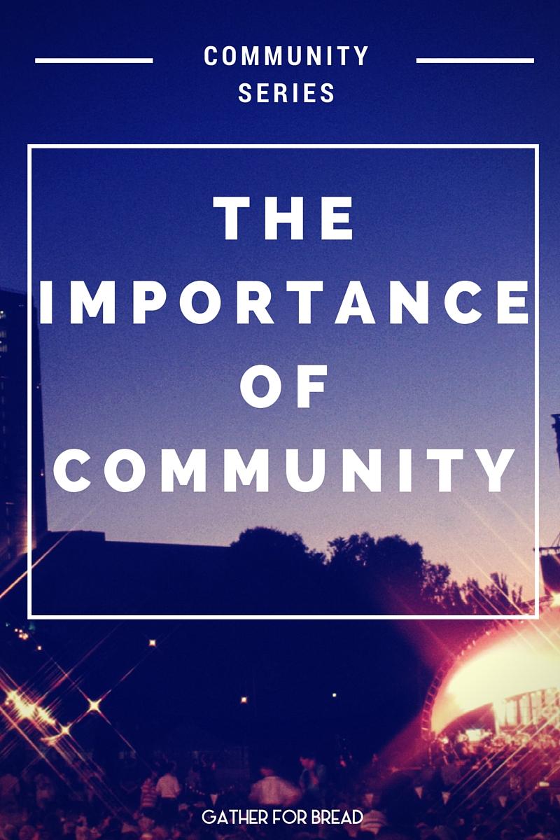 importance of community development pdf