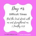 Handwritten Notes of Encouragement Day 6