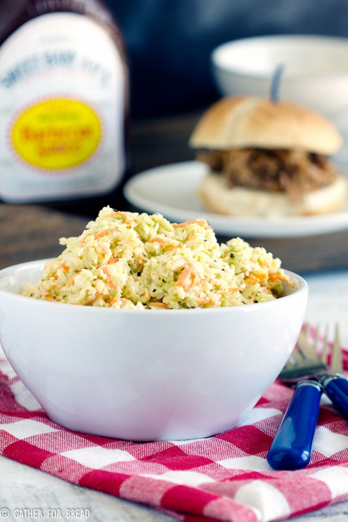 Grandmas Coleslaw | gatherforbread.com