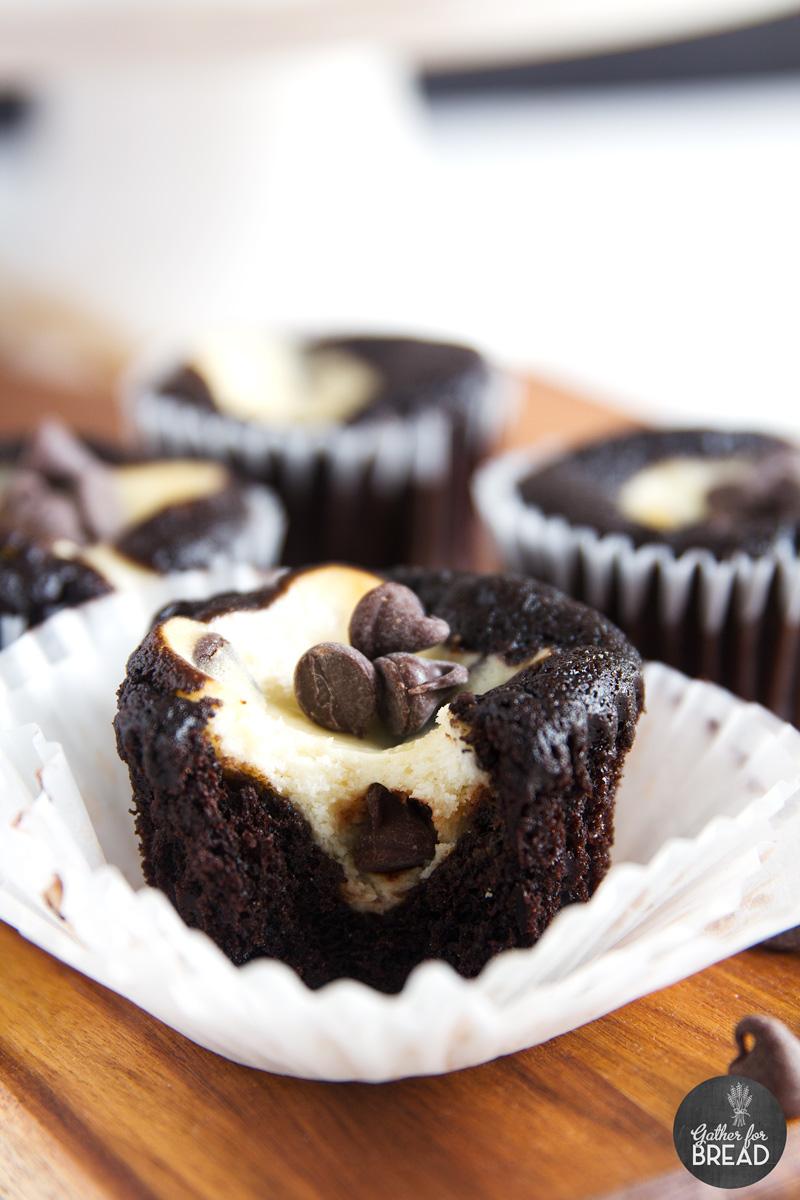 Black Bottom Cream Cheese Cupcakes