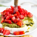 Goat Cheese Pesto Tomato Appetizer