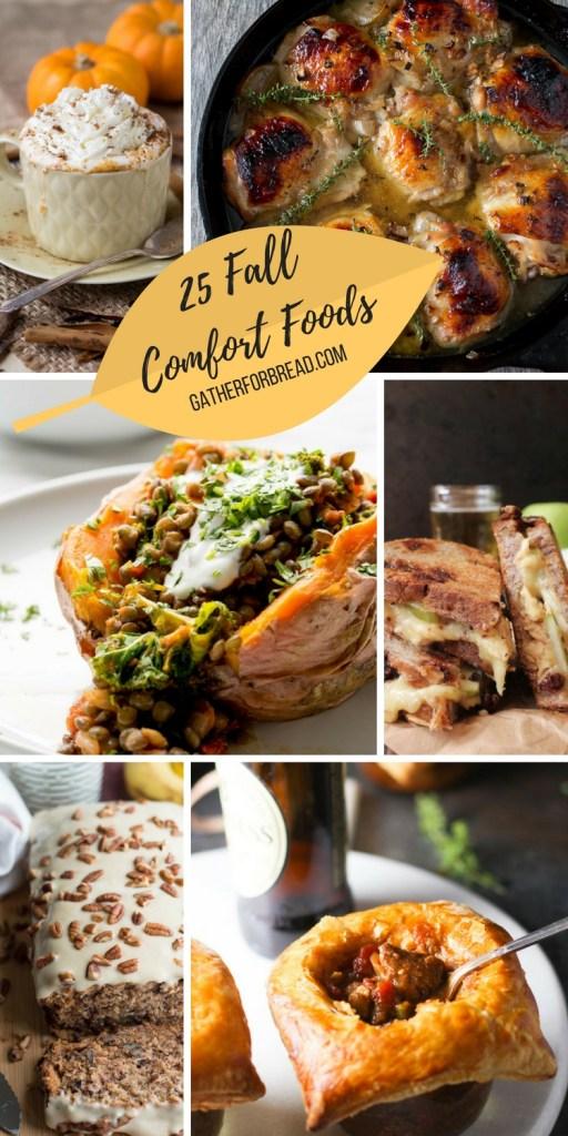 25 Fall Comfort Foods