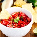 Fresh Homemade Tomato Salsa