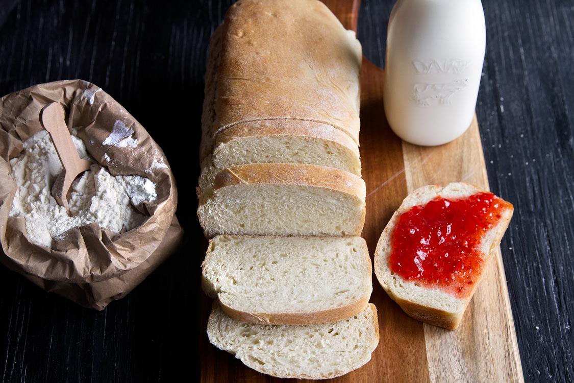 Basic Homemade White Bread - Gather for Bread