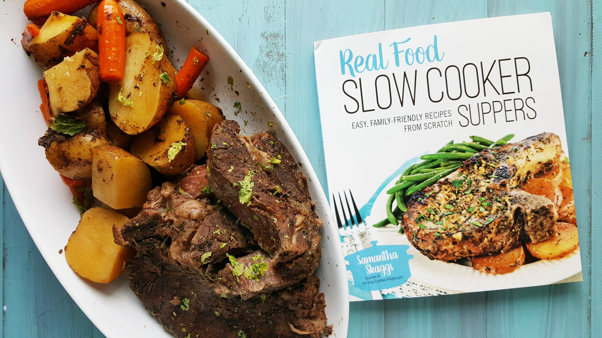 Real Food Slow Cooker Recipes - Comforting Pot Roast