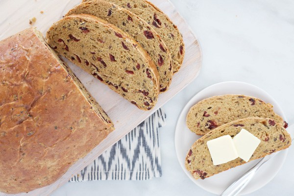 Cranberry Wild Rice Bread