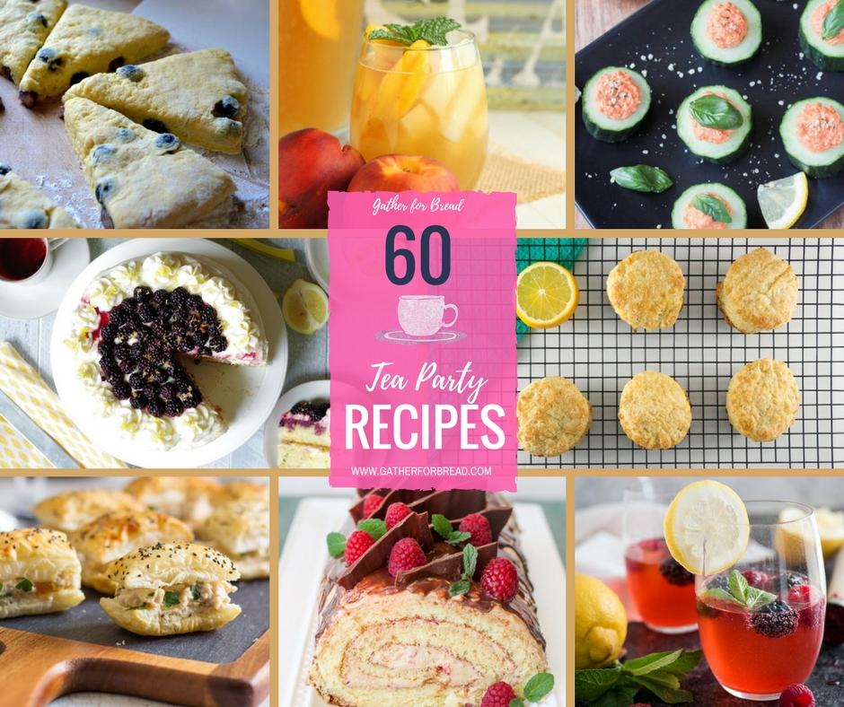 Pleasant Tea Party Recipes Gather For Bread Download Free Architecture Designs Xerocsunscenecom