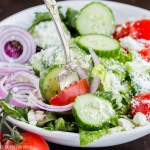 Easy Mediterranean Salad