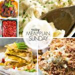 Weekly Meal Plan {Week 6}