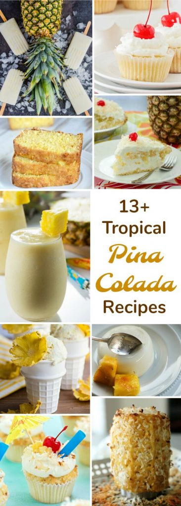 Tropical Pina Colada Recipes