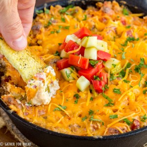 Easy Cheeseburger Dip + 13 Cheeseburger Recipes