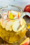 Sparkling Apple Cider - An easy homemade mix of apple juice concentrate and sparkling water for a no-fuss pretty drink to serve guests this fall season. Simple and sweet.