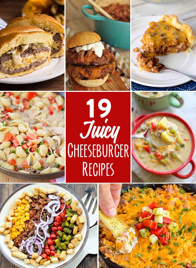 19 Juicy Cheeseburger Recipes