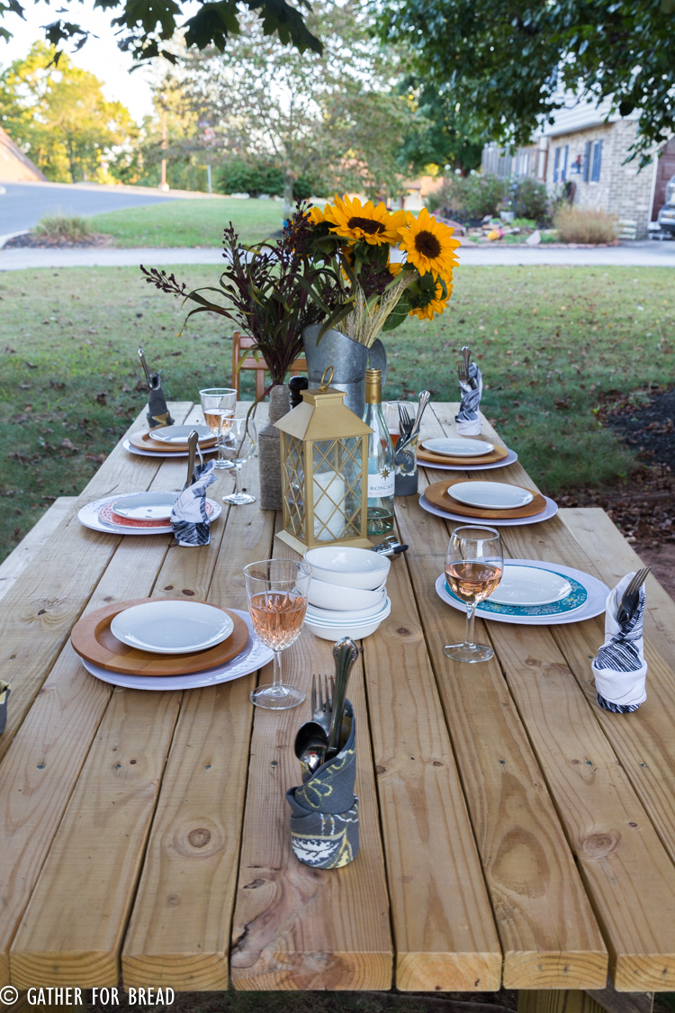 Fall Harvest Dinner Party Menu Ideas Part - 22: Fall Harvest Gathering- Planning A Dinner Party For Autumn With Ideas For  Recipes, Free