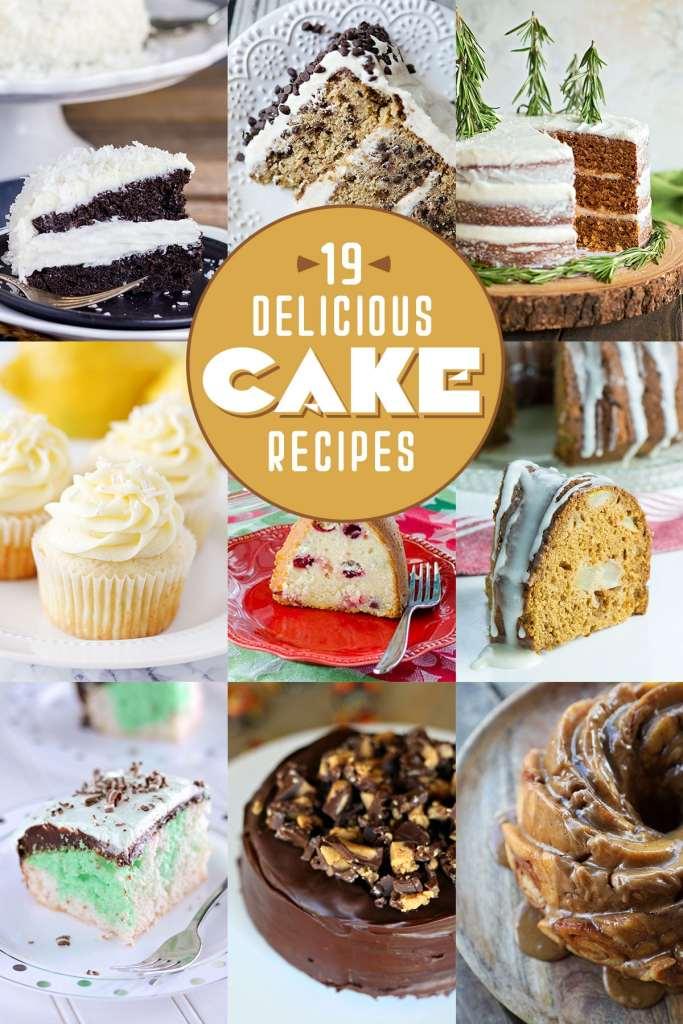 19 Delicious Cake Recipes
