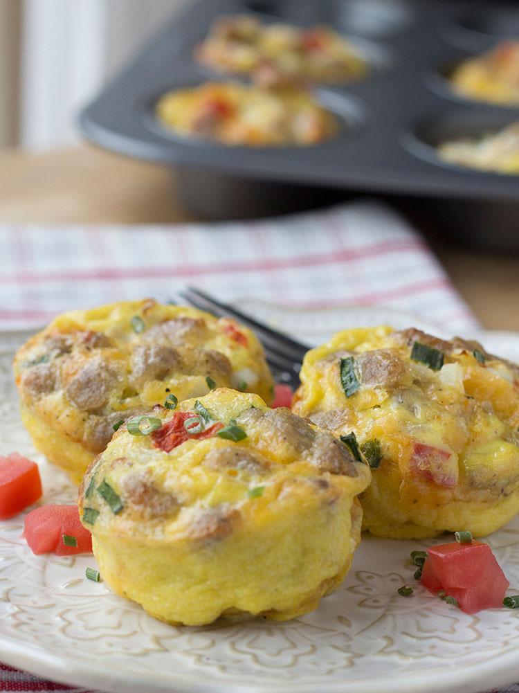 Easy Make Ahead Egg Muffins