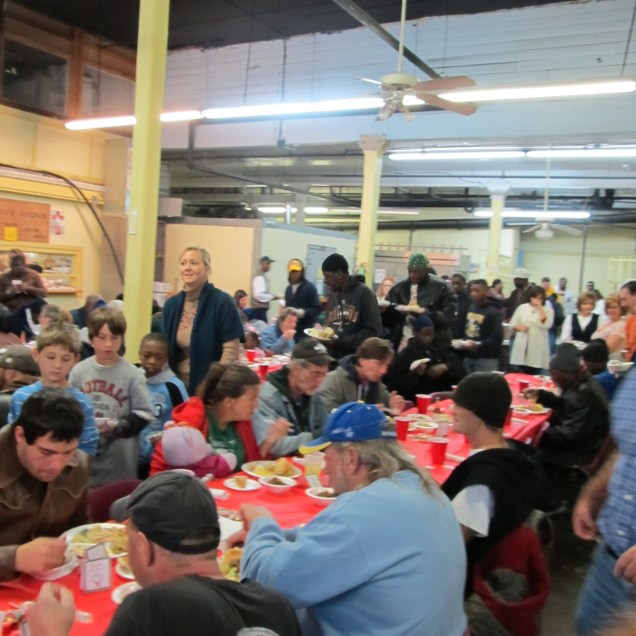 Christmas joy at the New Orleans Mission