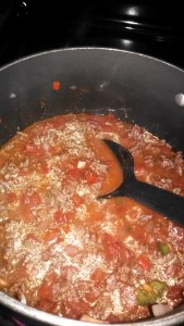 chili cooking