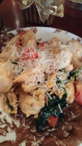 chicken with spinach and tomatoes 2